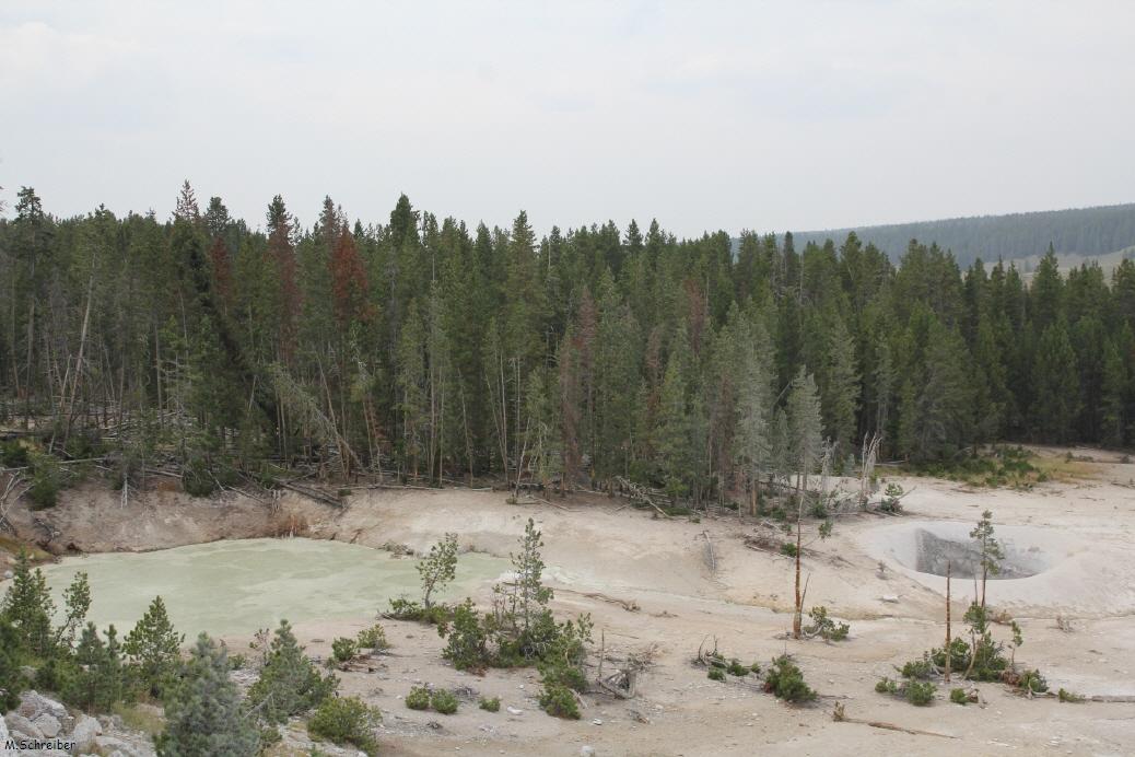 wo liegt yellowstone
